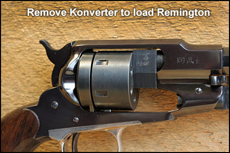 22 Conversion | 58 Remington converted to  22 | Konversion Kit